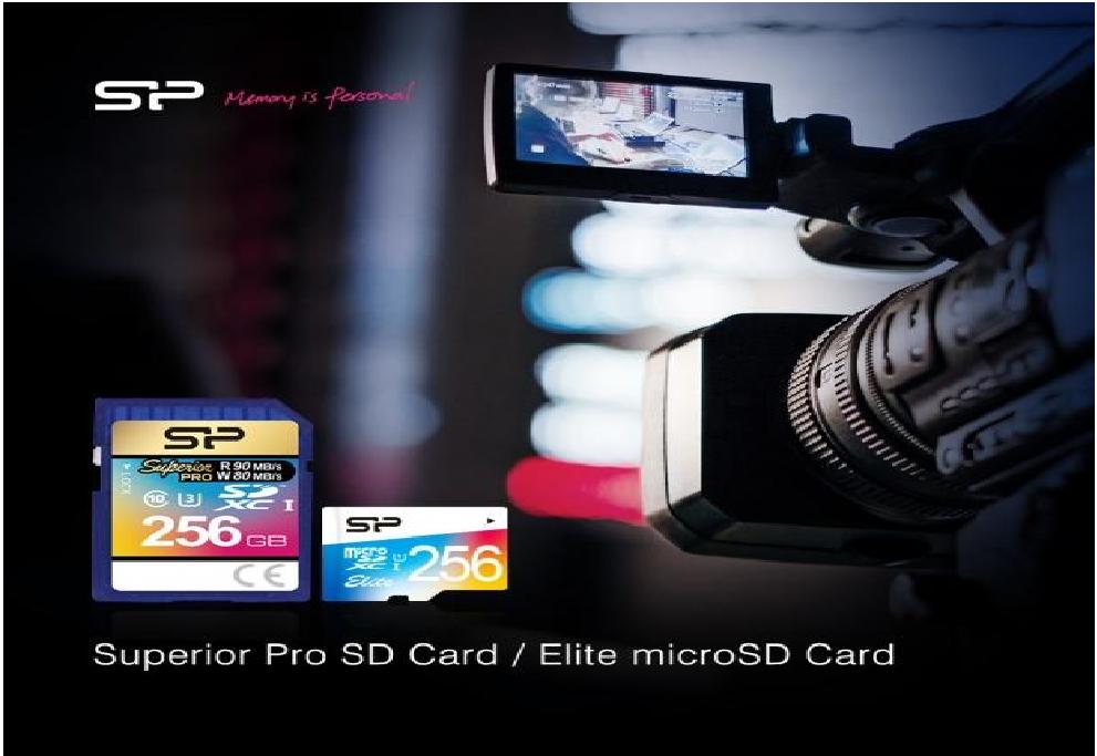 img3 Silicon Power przedstawia serie kart pamięci SDXC i mikro SDXC - Superior Pro i Elite